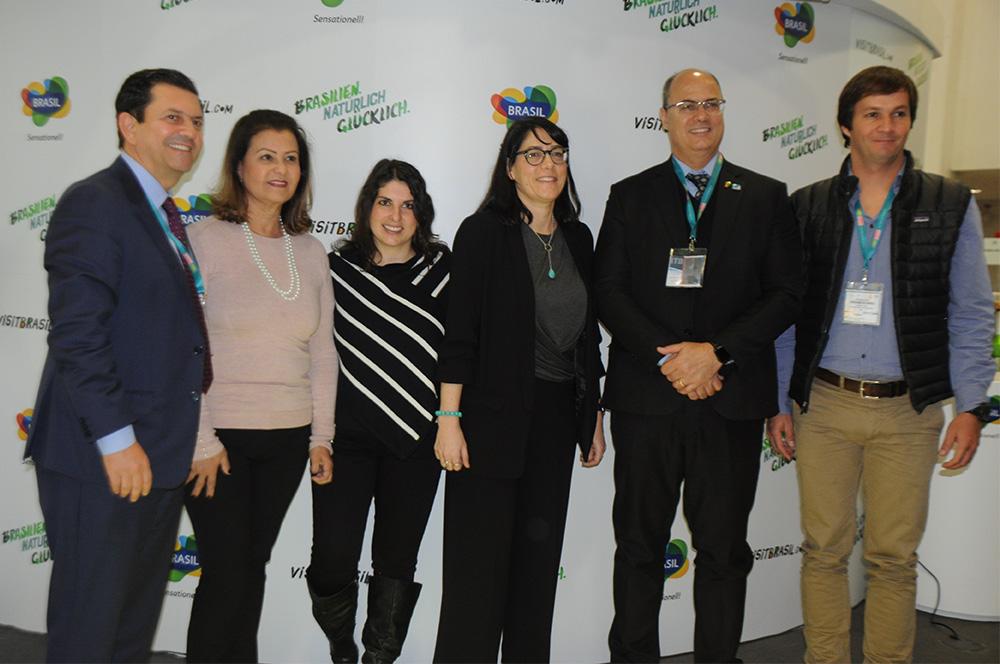 Equipe do Rio de Janeiro, liderada pelo Governador Wilson Witzel, fechou a realização de um evento com a Associação Internacional do Turismo de Aventura