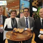 Fernando Fernandes, secretário de Turismo de Natal, Ana Maria Costa, secretária de Turismo do RN, José Odécio, da ABIH-RN, e Abdon Gosson, da Abav-RN