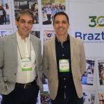 Fernando Santos, da Conex Travel, e Daniel Biancareli, da Sonho Real Viagens e Turismo
