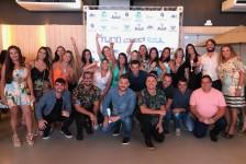 """Com festa e carro 0 km, Azul Viagens e ABIH-RN encerram campanha """"Tudo Começa Azul""""; fotos"""