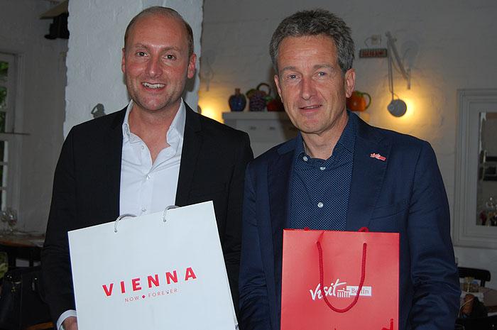 Florian Wiesinger, de Viena, e Christian Tanzler, de Berlim