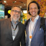 Francisco Guarisa, da TAP, e Bruno GIovanni, do RIOgaleão