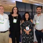 Frederico Levy e Heloisa Levy, da Interpoint, Monica Samia, da Braztoa, e Francisco Guardia, da DCS Travel