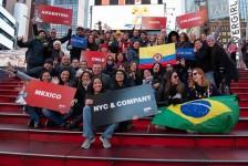 NYC & Company promove Mega Fam com cinco países da América Latina