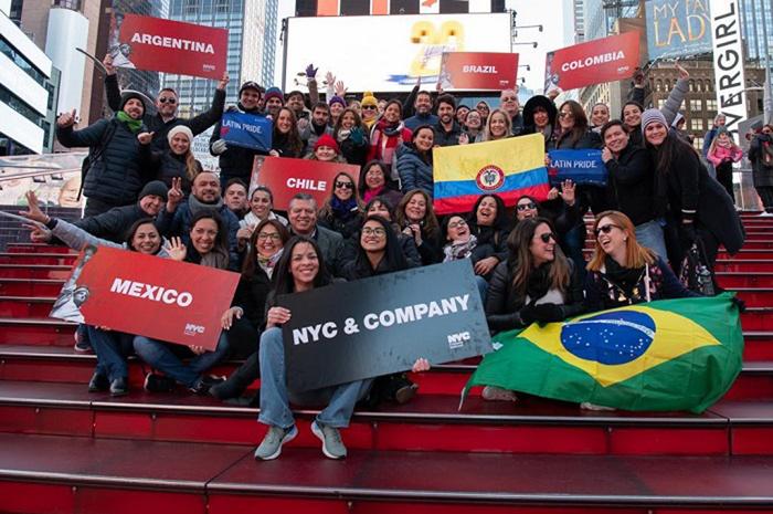 40 participantes do Brasil, Argentina, Chile, Colômbia e México conheceram os principais destinos de Nova Iorque