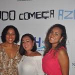 Isabela Lessa, Ayla Komai e Lais Azevedo, da Azul Viagens