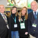 José Geraldo, do Windsor, Lia Coutinho, do LSH, Vania Mendes, da Del Bianco, e Victor Seixas, da Rentamar