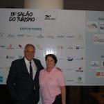 José Mauricio e Dulce Dellarett, da Abav-MG