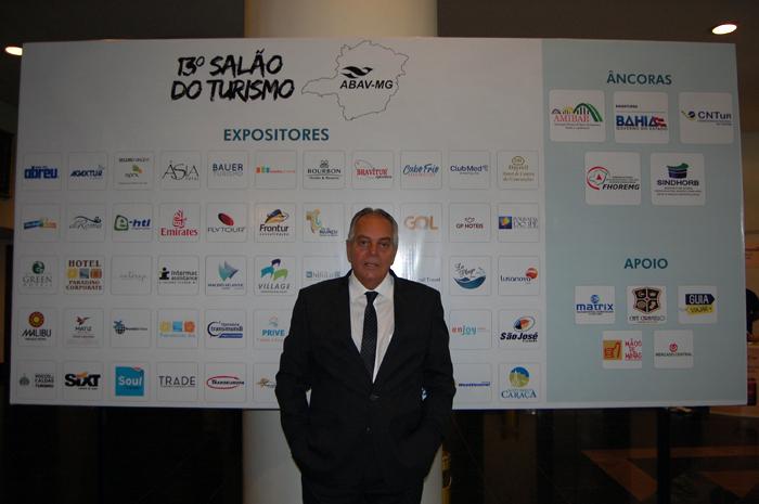 José Mauricio de Miranda Gomes, presidente da Abav-MG