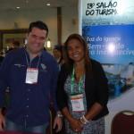 Luciano Ferreira, do Viale Hoteis e Neumari Christine, Setur Foz