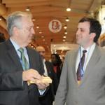 Luiz Alberto, embaixador do Brasil em Portugal, com André Dias, secretário adjunto de Governo do Pará