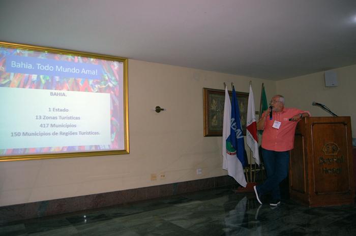 Luiz Castro, da Bahiatursa, apresenta os atrativos do estado