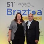 Magda Nassar e Toni Sando, presidente executivo do Visite São Paulo