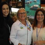 Marcela Pessoa, de Santa Cruz-RN, Rosa Masgrau, do M&E, e Beth Bauchwitz, de Tibau do Sul