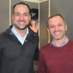 Marcelo Marinho e Diego Lando, do ICH Administração de Hotéis SA