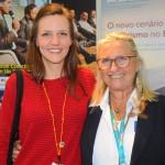 Maren Hönninger, da ITB, e Rosa Masgrau, do M&E