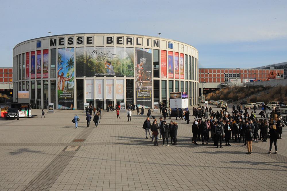 Messe Berlin e seus 26 pavilhões é a casa da ITB