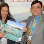 Monica Lacerda e Francisco Timbó, do Serrambi Resort