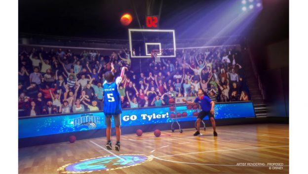 Abertura de NBA Experience acontece dia 12 de agosto, no Disney Springs.