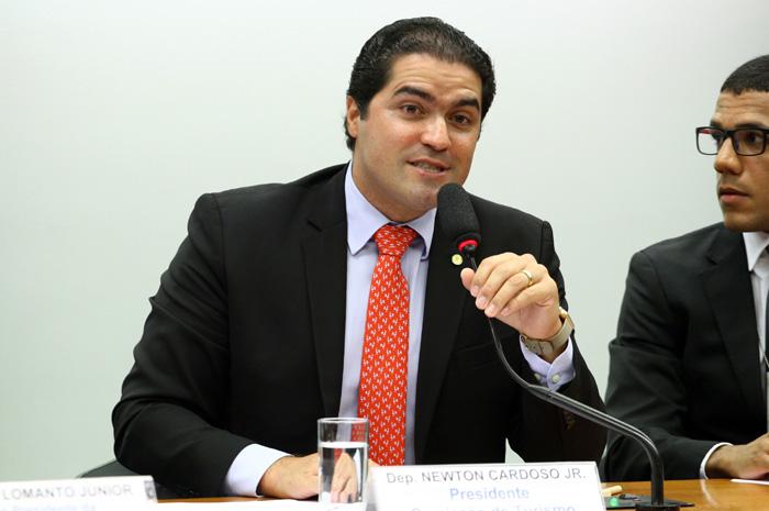 Newton Cardoso Jr é o novo presidente da Comissão de Turismo (Foto: Vinicius Loures/Câmara dos Deputados)