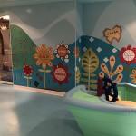 """O """"Small world"""" é uma outra área infantil, mas reservada à crianças de até 3 anos"""