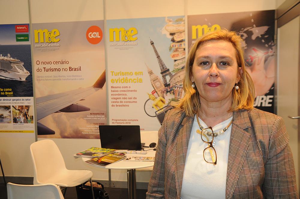 Paula Oliveira, diretora do Turismo de Lisboa