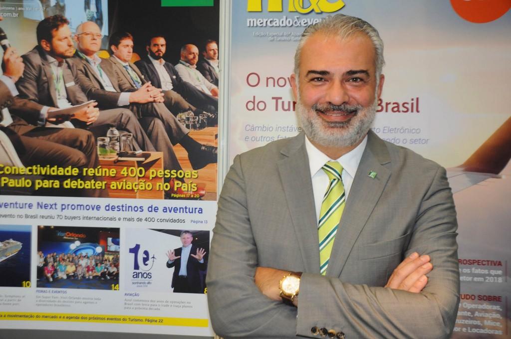 Paulo Gaba, CEO da Europcar no Brasil