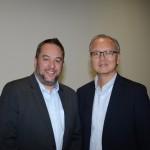 Paulo Ventura, do Expo Center Norte, e Waldir Chao, CEO da Cidade Center Norte