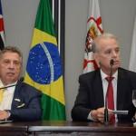 Raul Souza Sulzbacher, e Marcelo Lima Costa, secretário Adjunto da Secretaria de Turismo de São Paulo