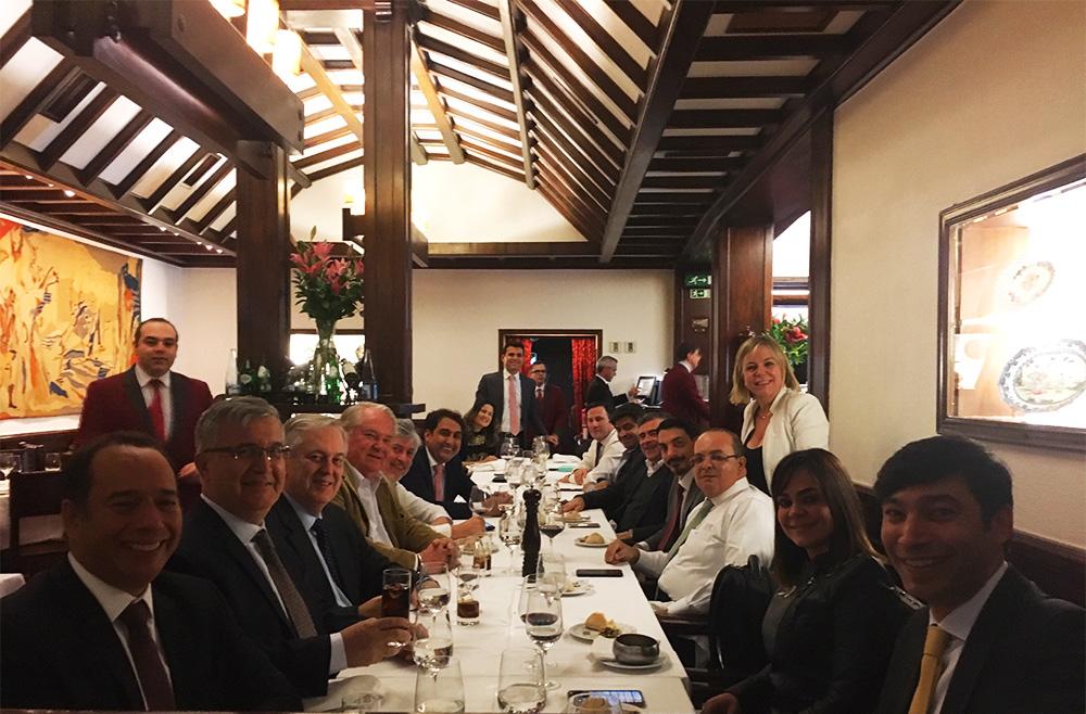 Reunião liderada pelo governador do DF reuniu investidores portugueses e o M&E