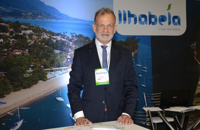 Ricardo Fazzini, secretário de Turismo de Ilhabela