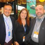 Robspierre Valcacio, da Vogal, Beth Bauchwitz, de Tibau do Sul, e Hugo Veiga, do Maranhão
