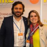 Rodrigo Novaes, secretário de Turismo de PE, e Ana Paula Vilaça, secretária de Turismo de Recife