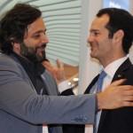 Rodrigo Novaes, secretário de Turismo de PE, e Antonoaldo Neves, presidente da TAP