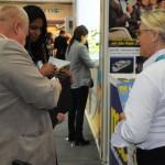 Rosa Masgrau, VP do M&E, conversa com os visitantes da ITB Berlin 2019