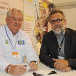 Roy Taylor, do M&E, e Francisco Guarisa, da TAP