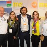 Roy Taylor e Rosa Masgrau do M&E, Milu Megale e Rodrigo Novaes, de PE, e Ana Paula Vilaça, de Recife