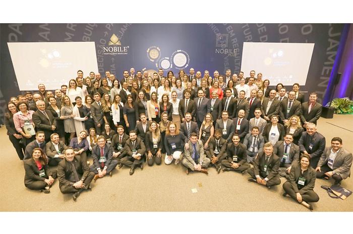 A Conferência Nacional Nobile reuniu toda a diretoria, gerentes gerais, gerentes de vendas e controllers que representaram os mais de 2.700 colaboradores da rede