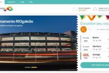 RIOgaleão ganha novo site com mais funções e maior interatividade