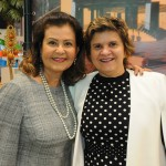 Teté Bezerra, presidente da Embratur, e Ana Maria Costa, secretária de Turismo do RN