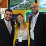 Thiago Azeredo, da Journeys, Lia Coutinho, do LSH, e Carlos Eduardo Cordeiro, do Collection Hotels