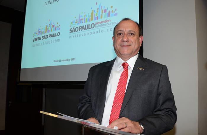 Toni Sando, presidente executivo do Visite São Paulo