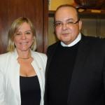 Vanessa Mendonça, secretária de Turismo do DF, e Ibaneis Rocha, governador do DF