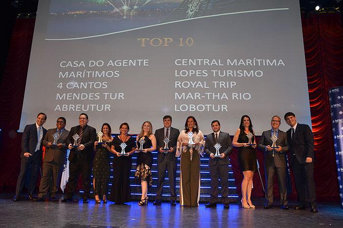 Vencedores do Top 10 MSC