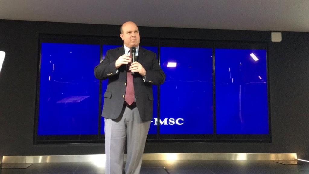 Bud Darr, vice-presidente Executivo de Política Marítima e Assuntos Governamentais da MSC Cruzeiros