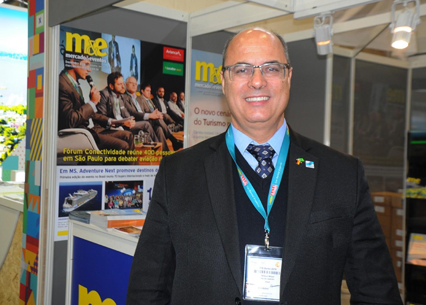 ITB: Governador do RJ promete investir em promoção e estandes em feiras internacionais
