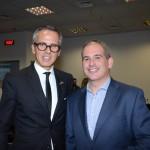 Yann Gillet, diretor Geral do Grand Hyatt, e David Ecija, do Hilton São Paulo