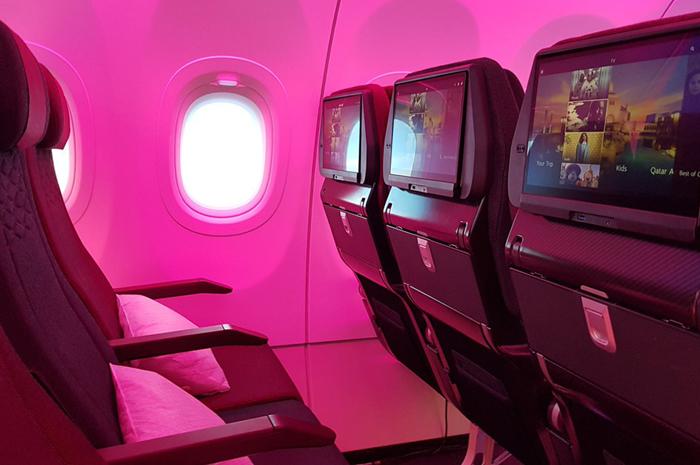 Qatar Airways classe executiva