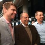 Jan Herget, diretor do Czech Tourism, Geraldo Rocha, presidente da Abav, e Peter Lutter, diretor do Czech Tourism para a América Latina