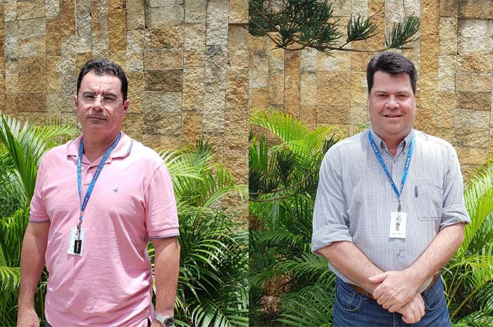 Paulo Menezes e Márcio Ramalho, do Beach Park Entretenimento